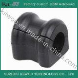 Foles e almofada pretos personalizados da bucha da borracha de silicone