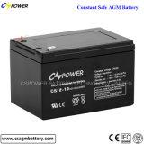 12V12ah AGM van het Gel de Diepe van de Cyclus Zure UPS Batterij van het Lood