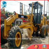 Hydraulic usato Caterpillar Buon-Tyres-Wheels-Walking Motor Grader per l'Oman-Sohar-Port (cat-140K-2014year)