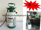 Pulvérisateur à compression 1.5gallon 5litre à main légère, pulvérisateur à pompe en plastique