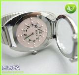 Type de contact de quartz montre de braille pour la personne borgne