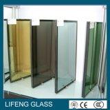 Vidrio de cristal aislado de la doble vidriera para el vidrio Inferior-e de la pared de cortina