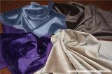 Tessuto del sofà e della tenda del velluto della tappezzeria del poliestere di Microfiber