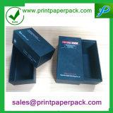 Rectángulo de regalo de empaquetado impreso aduana del cajón de lujo de la cartulina