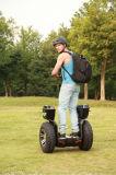 大人および警察の人の巡回のための方法2タイヤのペダルのバランス車