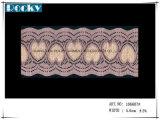 De textiel Versiering van het Kant van Spandex van de Toebehoren van het Kledingstuk