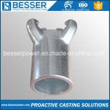 TS16949 inoxydable en alliage d'acier au carbone cire perdue d'investissement Precision Valve Castings