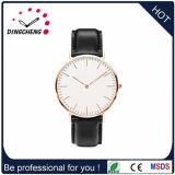 Relógio do esporte com o relógio de forma de quartzo do aço inoxidável da espessura de 6.0mm para o homem/mulher