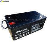 Bateria do gel para o sistema 12V200ah de Solar&Wind