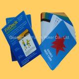Kundenspezifische Spielkarte-pädagogische Plastikkarten Flascards