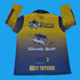Sublimation-Fischen-Hemd|Sublimiert, Hemd vom Fabrik-Lieferanten fischend