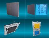 P8 señalización portable de aluminio de fundición a presión a troquel de la luz LED para el funcionamiento de la etapa