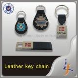 Fornitore di cuoio promozionale di Keychain