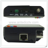 "Verificador do CCTV da câmera do IP de Onvif do monitor LCD do Wristband Handheld 3.5 do "" com ponto de entrada"