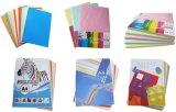 Het kleurrijke Document Wrinting Ppaer van de Kleur met A4 Grootte