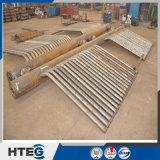La pressione della caldaia parte l'intestazione con il tubo di acciaio senza giunte
