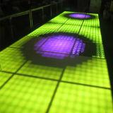 Portable 1m*1m 디스코 빛을%s 더 싼 LED 댄스 플로워 도와