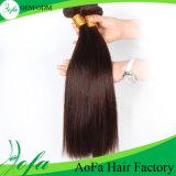 Выдвижение волос девственницы Brown горячего типа 2016 Unprocessed прямое бразильское