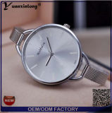 Yxl-797 OEM van de douane Dames van het Horloge van de Steelband van de Vrouw van het Horloge van de Vrouw verdunnen de Slanke het Horloge van de Riem van het Staal