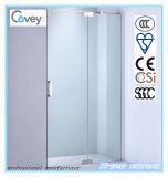 SGCC/Ce/CCC (A-KW03-D)를 가진 위생 상품 강화 유리 샤워 스크린