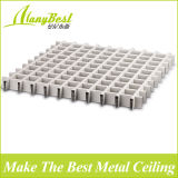 2016 de moda de techo de aluminio decorativo cuadrícula