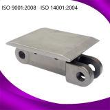 Corrente transportadora de rolo de transmissão de raspador de ferro de aço inoxidável