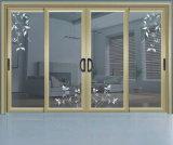 一流アルミニウム開き窓によってアーチ形にされるWindows