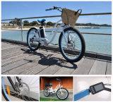 Bicicletas de la batería del crucero de las mujeres para la venta con los motores eléctricos de la bici del empuje