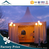 Ткань Structures 6mx6m White Canvas Sidewall Hang Ceiling Pagoda Tent