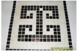 Glas Mosaic Tiles voor Decoration enz.