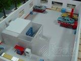 De Modellen /Industrial die van het Centrum van de Olijfolie het Model/Architecturale Model programmeren die van de Bouw van de Schaal het Model van de Bouw van de Factor/van het Project maken