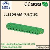 Ll2edga-7.5/7.62 Pluggable 끝 구획 연결관