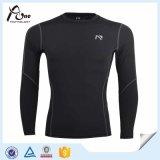 長い袖のワイシャツパフォーマンス摩耗の卸売の体操の摩耗