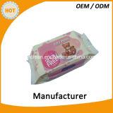 中国OEMの製造の赤ん坊のぬれたワイプ