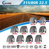 Alle Radial-LKW-Reifen 315/80r22.5 des Positions-Muster-TBR mit ECE-PUNKT Reichweite