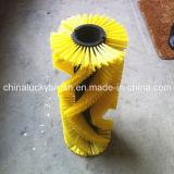 Borstel van de Straatveger van pp de Materiële Gele (yy-206)