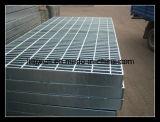 Galvanizado en caliente de acero antideslizante suelo de rejilla