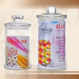 GlasCandle Jar Tea Jar Candy Jar mit Lid