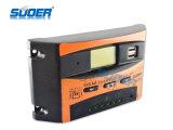 Contrôleur solaire de contrôleur solaire de charge de Suoer 12V 24V 10A PWM (ST-C1210)