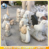 Merlion 동상 싱가포르 새겨진 Merlion 조각품