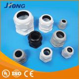 Glândula de cabo plástica de nylon, glândula de cabo plástica de nylon preta, glândula de cabo plástica de nylon cinzenta