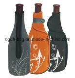 La chemise de bouteille de /Wine de bière du néoprène estampée par coutume peut refroidisseur