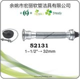 Perte d'acier inoxydable et pipe flexible de prolonge de pp pour le drain de bassin, de bassin et de Bath