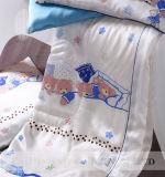 赤ん坊のための100%の蘇州Taihuの雪からの絹の詰物及びファブリック羽毛布団及び子供