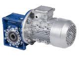 Caja de engranajes del gusano de la fundición de aluminio de Nmrv con el motor de inducción