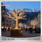 Luzes decorativas do feriado da filial de árvore do Natal quente do diodo emissor de luz