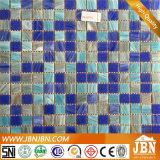대양 파랑 색깔 혼합 크기 수영풀 유리제 모자이크 (H455021)