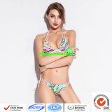 Frauenreizvoller Halter-Bikini/reizvoller Bikini