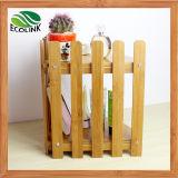 Zweistufige Bambusbadezimmer-Ecken-Zahnstange