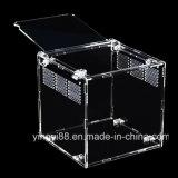 SGS Certificates를 가진 높은 Quality Acrylic Terrarium Reptile Box